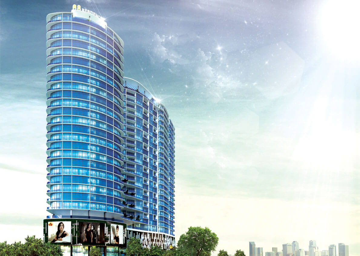 """""""68 Residence"""" a luxury residential and commercial development receives approval in Yangon."""