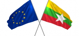 Myanmar trading volumes reaches new records with the European Union.