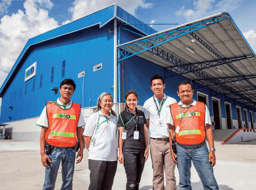 DAMCO and Star Light Group open new logistics centre in Myanmar