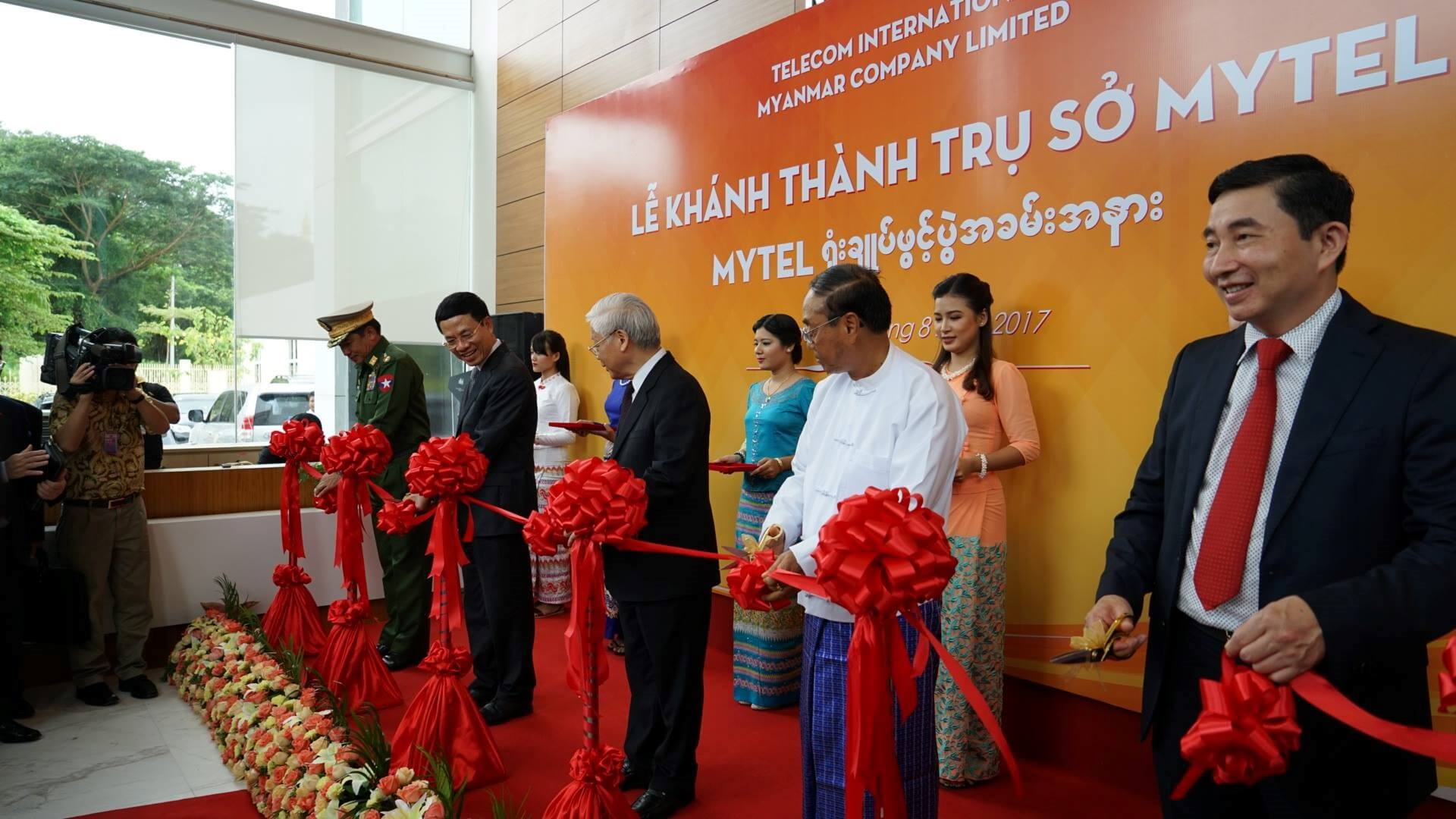 MyTel, the 4th Telco in Myanmar, is launching a 4G network as planned.